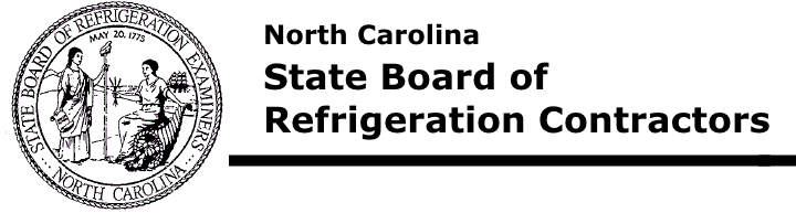 North Carolina State Board of Refrigeration Examiners